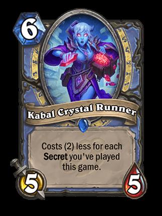 hearthstone kabal crystal runner dekki
